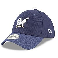 Adult New Era Milwaukee Brewers 39THIRTY Vigor Shade Flex-Fit Cap