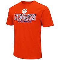 Men's Campus Heritage Clemson Tigers Team Color Tee