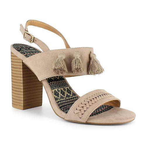 Dolce by Mojo Moxy Braxton Women's Tassel High Heels