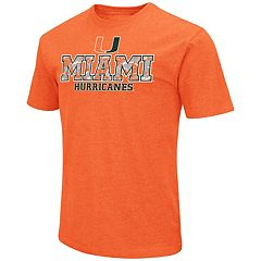 Men's Campus Heritage Miami Hurricanes Team Color Tee