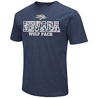 Men's Campus Heritage Nevada Wolf Pack Team Color Tee
