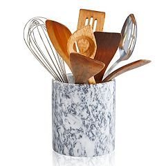Artland Marble Utensil Holder & Large Wine Cooler