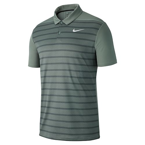 8182a9fb69 Men's Nike Dry Essential Regular-Fit Striped Golf Polo
