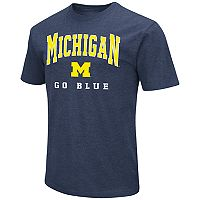 Men's Campus Heritage Michigan Wolverines Team Color Tee