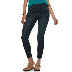 Juniors' Mudd® High-Waisted 4-Way Stretch Ankle Jeggings