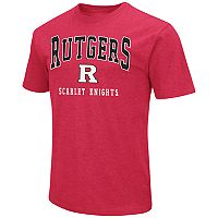 Men's Campus Heritage Rutgers Scarlet Knights Team Color Tee