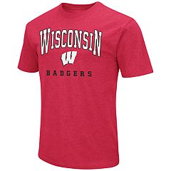 Men's Campus Heritage Wisconsin Badgers Team Color Tee