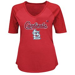 Plus Size Majestic St. Louis Cardinals Half Sleeve Tee