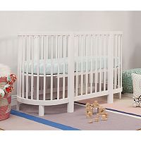 Babyletto Hula Oval Convertible Crib with Mini Bassinet Conversion
