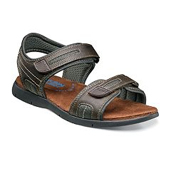 Nunn Bush Rio Grande River Men's Two-Strap Open Toe Sandals