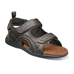 Nunn Bush Rio Grande River Men's Three-Strap Sandals