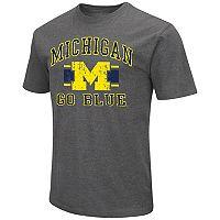 Men's Campus Heritage Michigan Wolverines Banner Tee