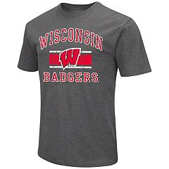 Men's Campus Heritage Wisconsin Badgers Banner Tee