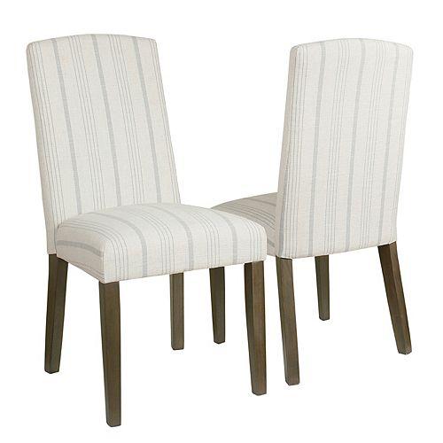 HomePop Finley Dining Chair 2-piece Set