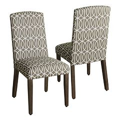 HomePop Finley Dining Chair 2 pc Set