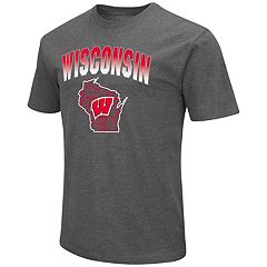 Men's Campus Heritage Wisconsin Badgers State Tee