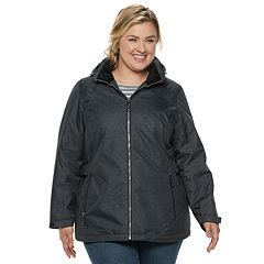 Plus Size ZeroXposur Natalia Insulated Midweight Jacket