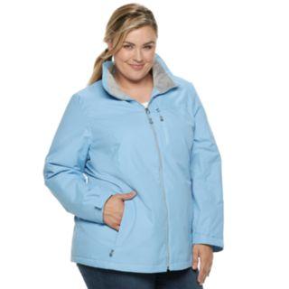 Plus Size ZeroXposur Myra Hooded Midweight Jacket