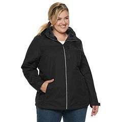 Plus Size ZeroXposur Myra Hooded Midweight Jacket