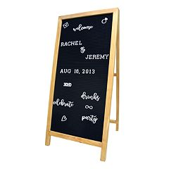 New View Letter Board Easel 189-piece Set