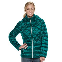 Womens Green Coats Amp Jackets Outerwear Clothing Kohl S