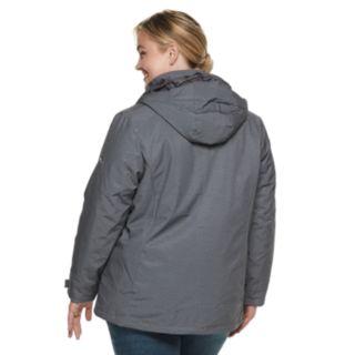Plus Size ZeroXposur Trish 3-in-1 Heavyweight Systems Jacket