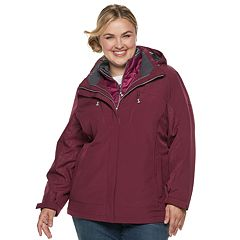Plus Size ZeroXposur Trish 3-in-1 Heavyweight Systems Jacket
