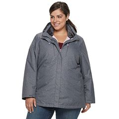 Plus Size ZeroXposur Honor 3-in-1 Systems Jacket
