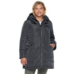 Plus Size ZeroXposur Jeanine Hooded Heavyweight Jacket