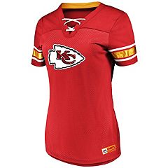 Women's Majestic Kansas City Chiefs Draft Me Top