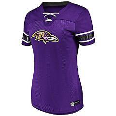 Women's Majestic Baltimore Ravens Draft Me Top