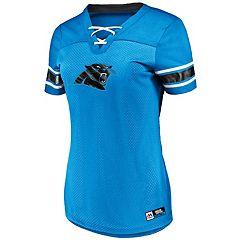Women's Majestic Carolina Panthers Draft Me Top