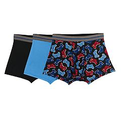 Boys 4-20 Fruit of the Loom Game Control 3-Pack Boxer Briefs