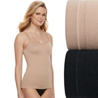 Women's Warner's 2-pack Seamless Reversible Cami 600087WA