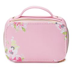 Floral Travel Zip Case