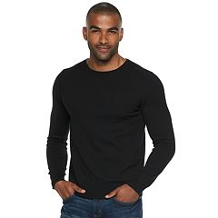 Men's Marc Anthony Slim-Fit Tuck-Stitch Crewneck Sweater