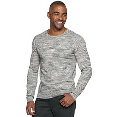 Men's Marc Anthony Slim-Fit Tuck-Stitch Crewneck Sweater