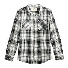 Boys 8-20 Urban Pipeline® Button-Down Flannel Shirt
