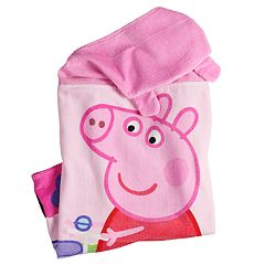 Entertainment One Peppa Pig Country Ride Kids Hooded Bath Wrap