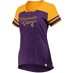 380f260cc39 Womens NFL Minnesota Vikings T-Shirts Short Sleeve