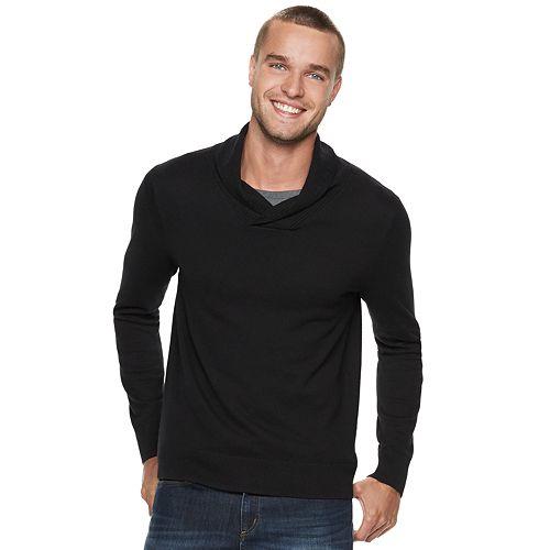 Men's Marc Anthony Slim-Fit Shawl-Collar Sweater