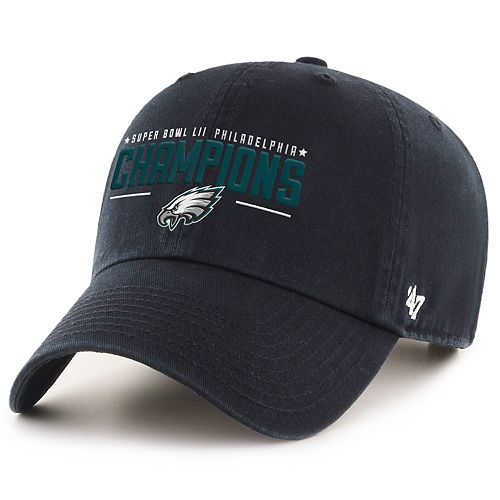0a6361ea5c8b86 Adult '47 Brand Philadelphia Eagles Super Bowl LII Champions Adjustable Cap