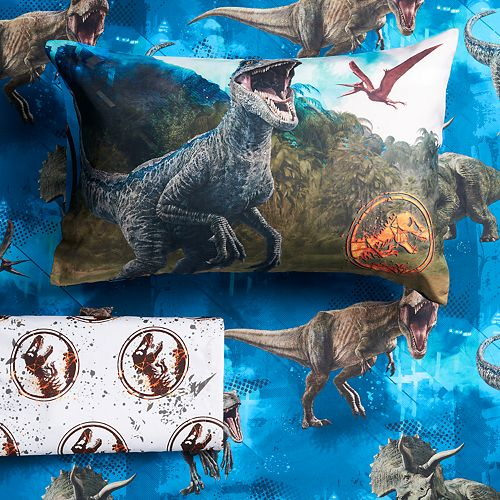 Jurassic World Predator Run Sheet Set