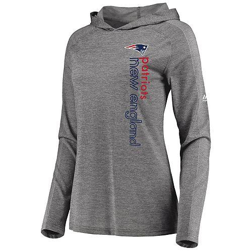 finest selection efbdb f997c Women's Majestic New England Patriots Fan Flow Hoodie