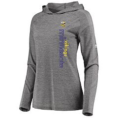 Women's Majestic Minnesota Vikings Fan Flow Hoodie