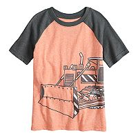 Boys 4-10 Jumping Beans® Bulldozer Raglan Graphic Tee