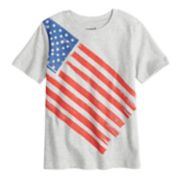 Boys 4-10 Jumping Beans® Flag Jersey Graphic Tee