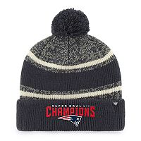 Adult '47 Brand New England Patriots Super Bowl LII Champions Beanie
