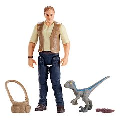 Jurassic World: Fallen Kingdom Owen With Baby Blue Figure Set