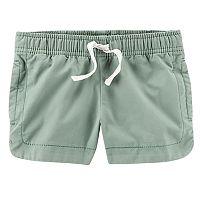 Girls 4-8 Carter's Color Side-Split Shorts